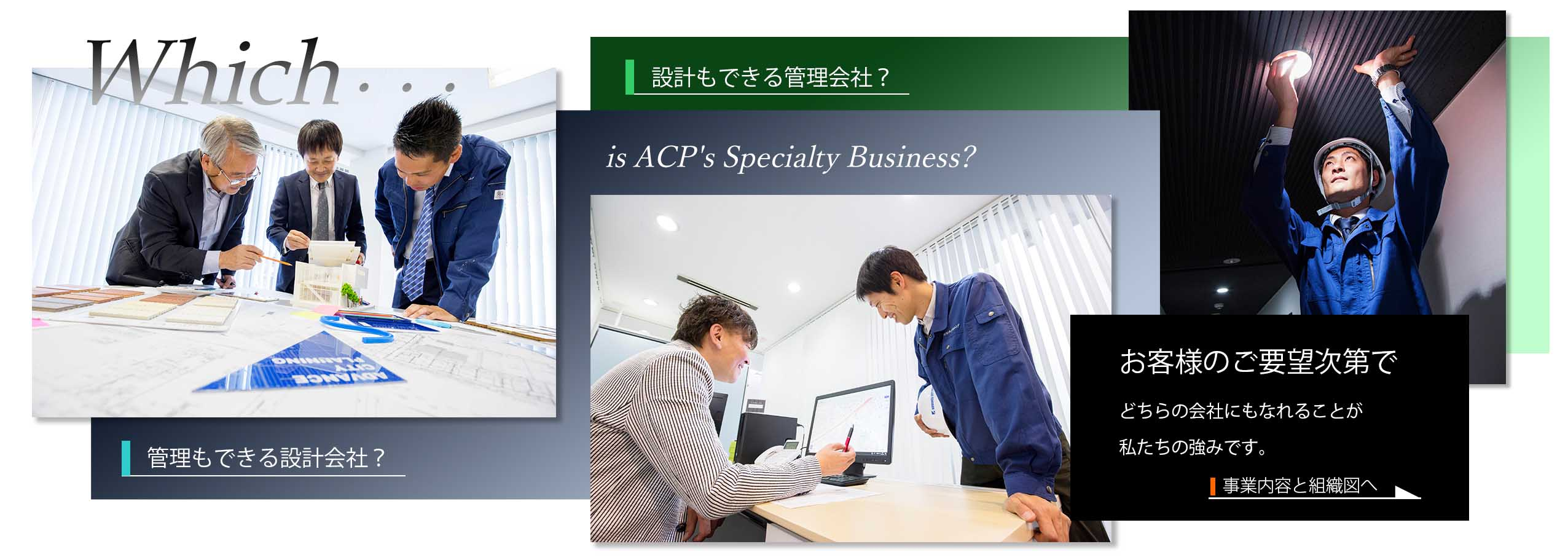 ACPの事業と組織