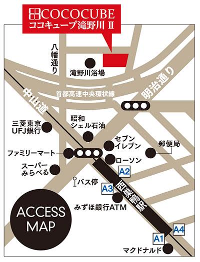 ココキューブ滝野川2詳細マップ