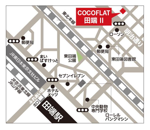 ココフラット田端2詳細マップ