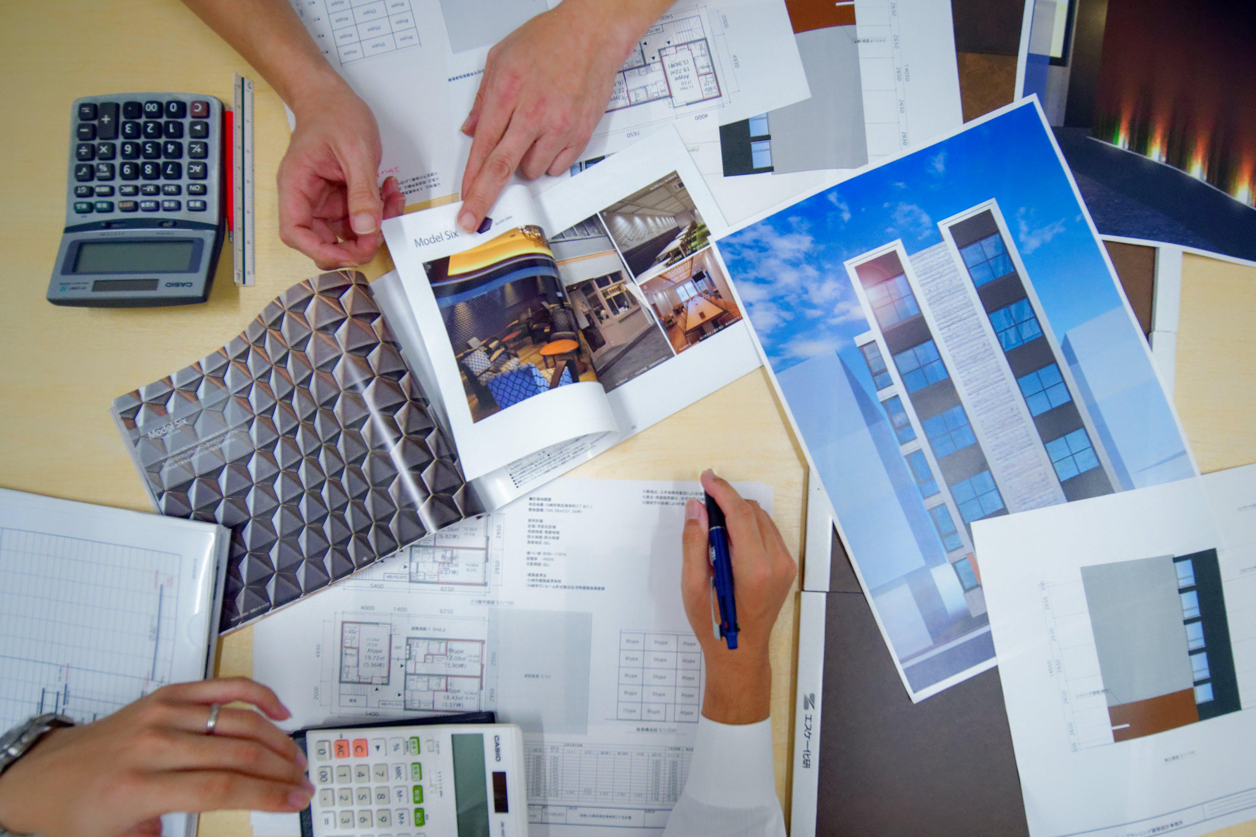 建築設計(基本設計・実施設計)監理(設計監理・工事監理)