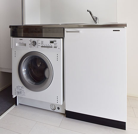 ビルトインドラム式洗濯乾燥機