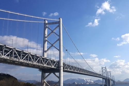 瀬戸大橋全線開通